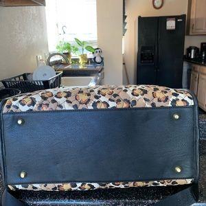 Betsey Johnson Bags - Betsey Johnson Leopard duffle weekender Bag